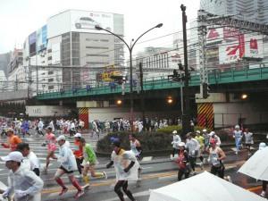 トーキョーマラソン①